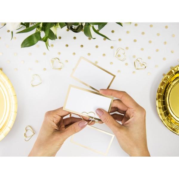 Plaatsnaamkaartjes Gold Wedding