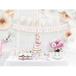 Slinger bride groom rosegoud