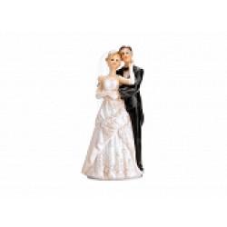Taarttopper bruidspaar net getrouwd