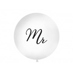 Mega Ballonnen Mr 1 meter zwart