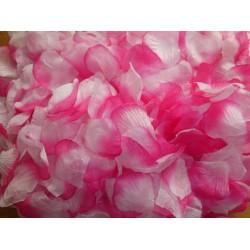Rozenblaadjes roze/wit 500