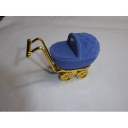 Ringdoos kinderwagen blauw