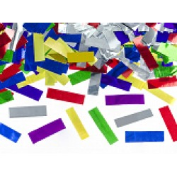 Confetti kanon knipsels mix 60 cm