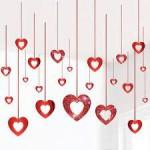 hart rood decoratie