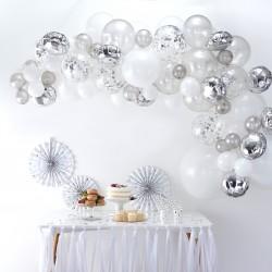 Ballonnenboog Zilver  DIY