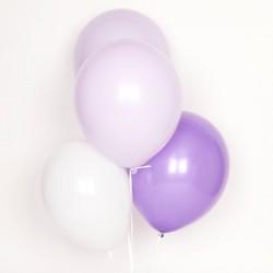 Ballonnen mix Lila  10 stuks