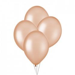 Ballonnen metallic Perzik  30 cm