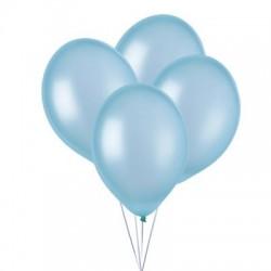 Ballonnen Metallic Lichtblauw