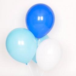 Ballonnen mix Blauw  10 stuks