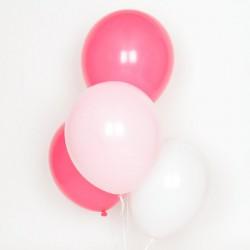 Ballonnen mix Pink  10 stuks