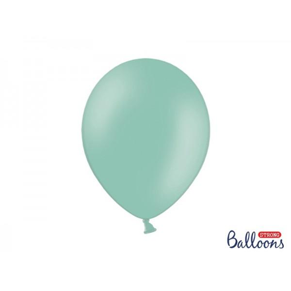 Ballonnen pastel mint  10 stuks