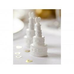 Bellenblaas bruidstaart 24 stuks