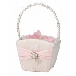 Bloemenmandje Blush Pink