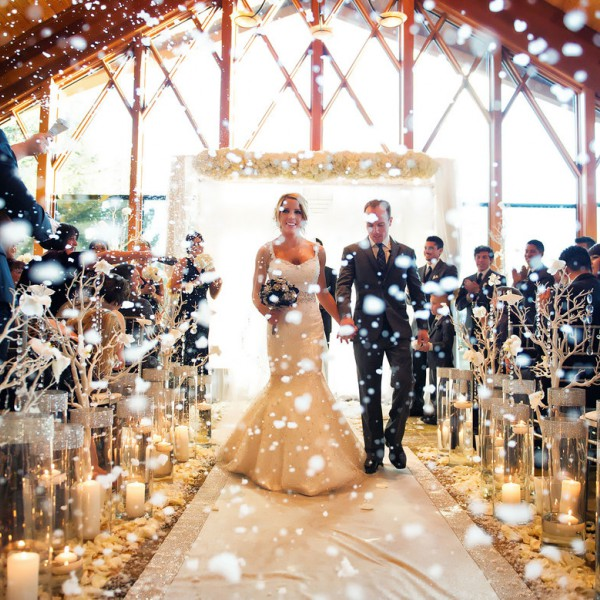 Witte Winter Wedding