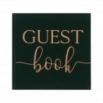 Gastenboek Groen Fluweel