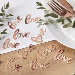 Confetti Love Rosé Goud