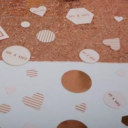 Tafelconfetti Geo Blush