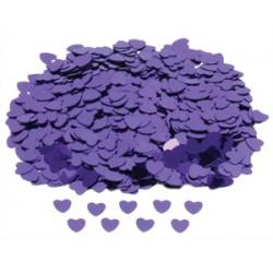 Confetti metallic paars