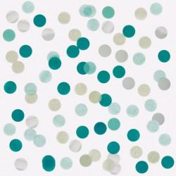 Confetti tissue Green