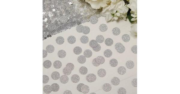 f96aecbf20c Glitter confetti zilver cirkels
