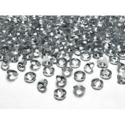 Diamant confetti antraciet 12 mm