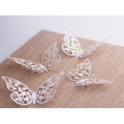 Decoratieve vlinders  10 stuks