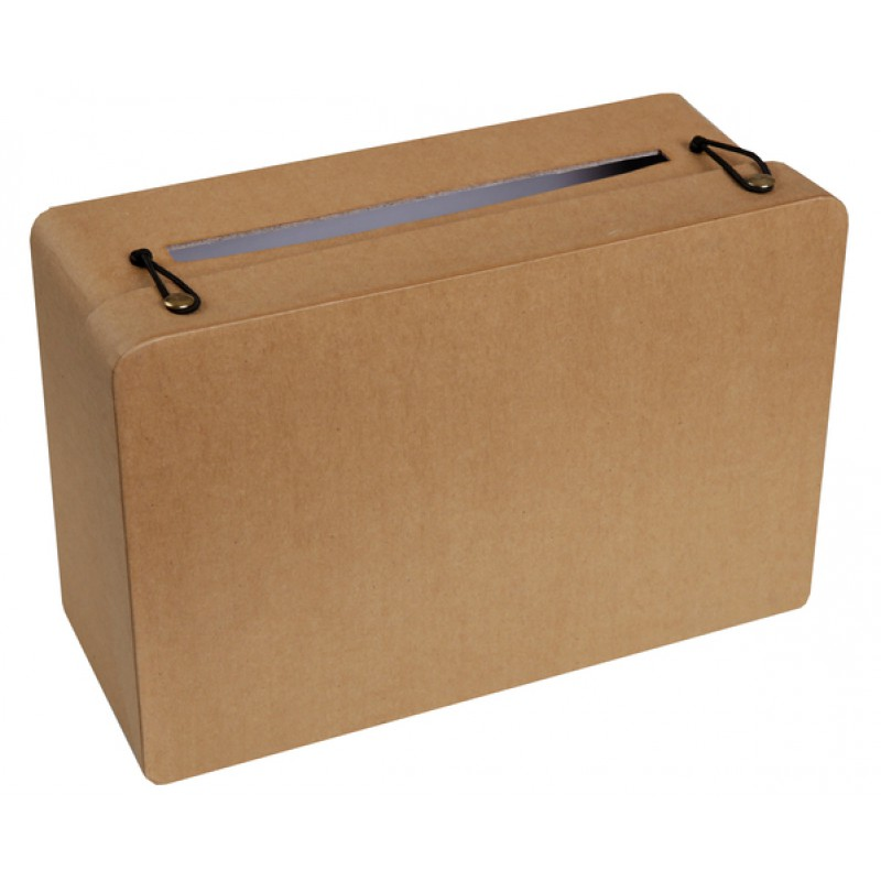 Enveloppendoos koffer wit - Cacher sa box internet ...