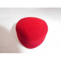 Ringendoosje Hart - 1 Ring rood zwart