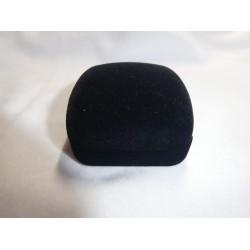 Ringendoosje  2 Ringen zwart wit