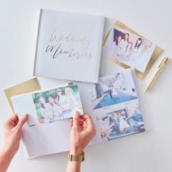 "Foto album ""gold wedding"""