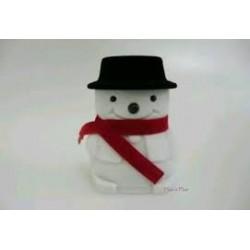 Ringdoos sneeuwpop