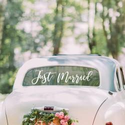 Auto Sticker Just Married