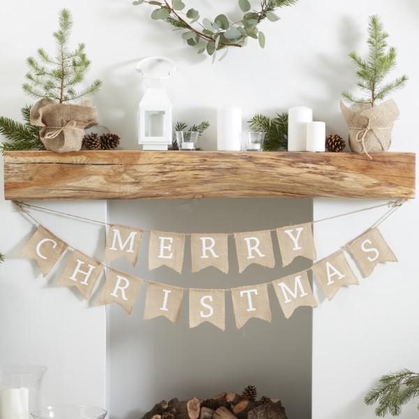 Jute Slinger Merry Christmas