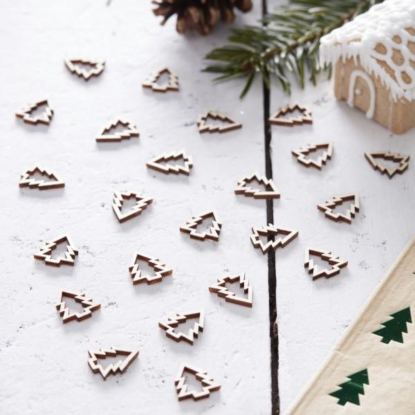 Tafel Confetti Kerstboom