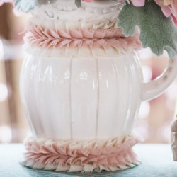 Lint ruches  oud roze