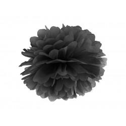 Pompom zwart