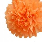 Pompom oranje