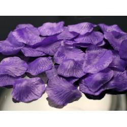 Rozenblaadjes violet