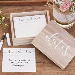 Date Night Ideas kaartjes