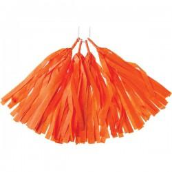 DIY Tassel slinger oranje