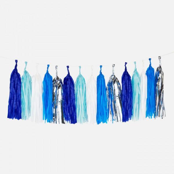 Tassel Slinger Set Blue