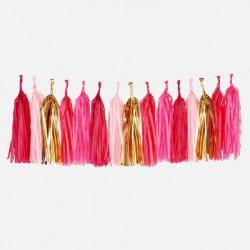 Tassel Slinger Set Pink Mix
