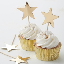 Food-toppers Golden Star  10 ST