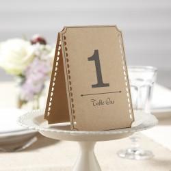 Kraft tafel nummers  1-12