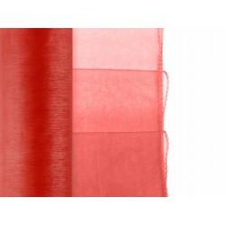 Organza gezoomd rood  9 meter