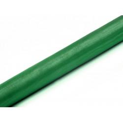 Organza rol smaragd groen  9 meter