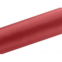 Satijn rol rood  9 meter