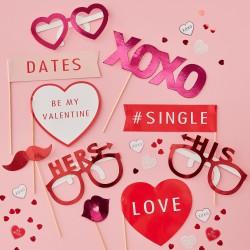 Valentijn Foto Booth Props