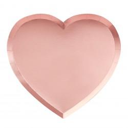 Papieren Bordjes Hartvorm