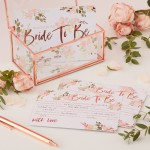 Advieskaartjes - Bride To Be - 10 ST